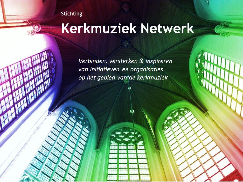 Logo KerkmuziekNetwerk met doel