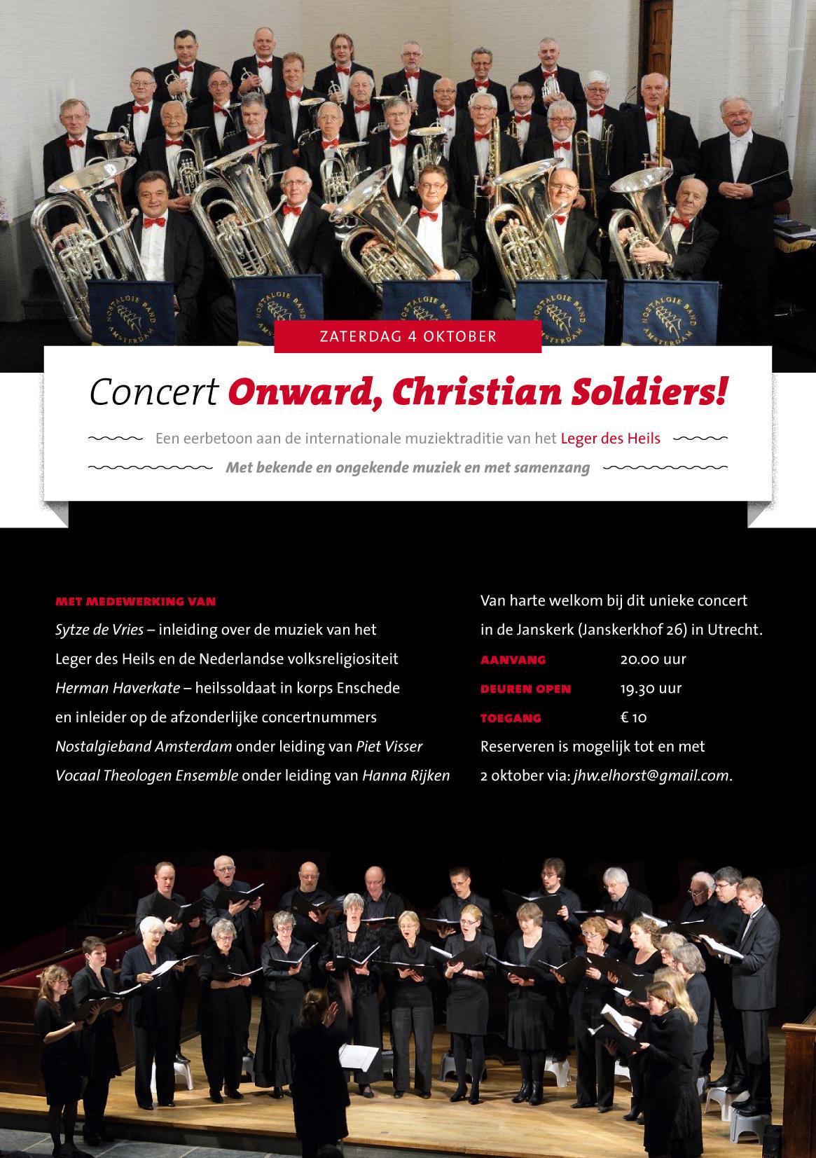 concertflyer OCS 4 oktober 2014